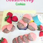 Chocolate Covered Strawberry Cookies…